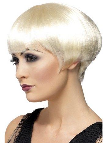 Peruk 1920-tals bob blond - Maskerad-Tips.se 04f46722a6be9