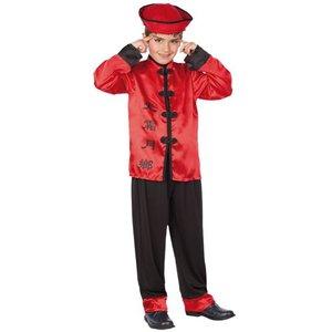 Kinesisk pojke maskeraddräkt
