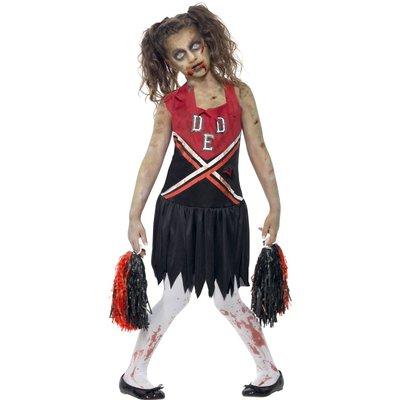 Zombie Cheerleader maskeraddräkt