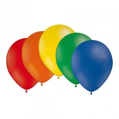Latexballonger - Regnbågsfärger