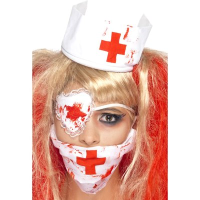 Blodig sjuksköterska kitt