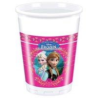 Disney Frost partymuggar i plast 180ml - 8 st