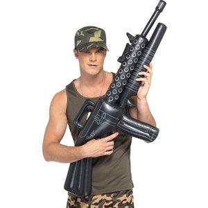 Uppblåsbart maskingevär