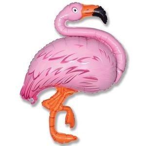 Folieballong - Flamingo