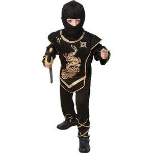 Ninja maskeraddräkt barn