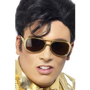 Elvis guld solglasögon