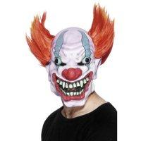 Mask barnätande clown