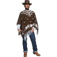Vilda västern vandrande pistolman maskeraddräkt - Medium