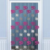 50-års dörrgardin - 1.98 m