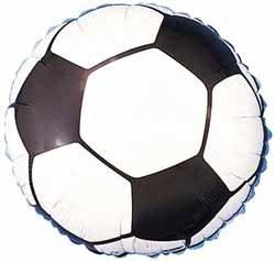Folieballong - Fotboll 45 cm