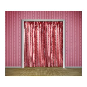 Glittrigt dörrdraperi - Flera olika färger 90 x 250 cm