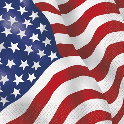 USA servetter 16 st
