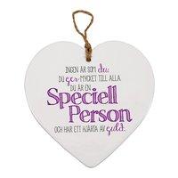 Hjärttavla- Speciell person