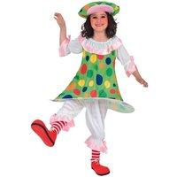 Pajas-Clown maskeraddräkt barn