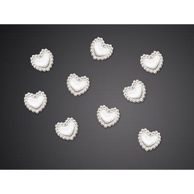 Hjärtanutsmyckningar - 1 cm 25 st