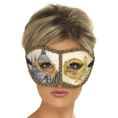 Mask venetiansk colombina venedig