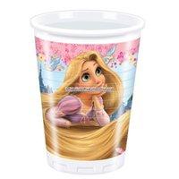 Disney Rapunzel plastmuggar 180ml - 10 st