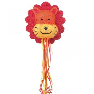 Lejon pinata med dragsnören