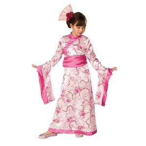 Asiatisk prinsessa maskeraddräkt