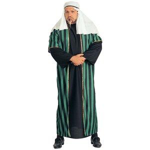Plus Size Arabisk shejk maskeraddräkt