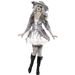 Pirate Lady Halloween outfit