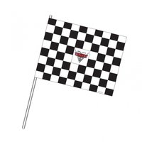 Disney bilar Racingflaggor - 4 st
