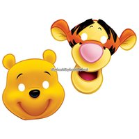 Nalle Puh partymask - 6 st