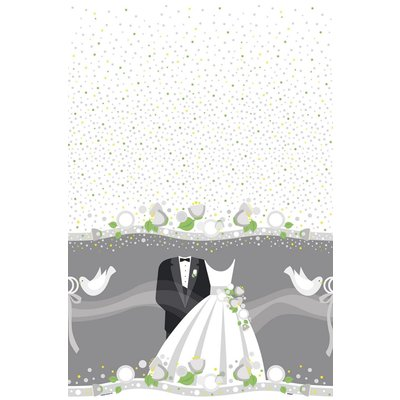 Bordsduk - Silvrigt bröllop