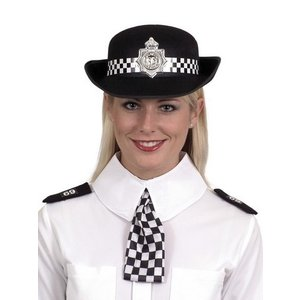 Kvinnlig poliskonstapel set