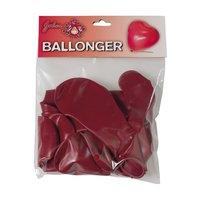 Hjärtanformade ballonger 8-pack
