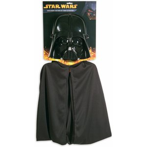 Darth Vader cape set barn - Ålder 5-7 år