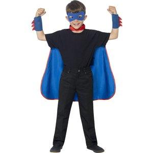 Superhjälte maskeraddräkt set