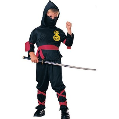 Ninja maskeraddräkt för barn