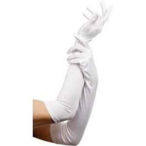 Handskar långa vit