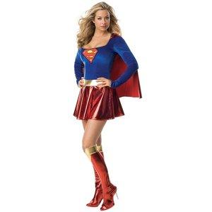 Supergirl / Superwoman maskeraddräkt