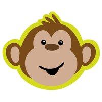 Monkeying around inbjudningskort - 8 st