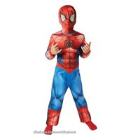 Spindelmannen maskeraddräkt - Barn
