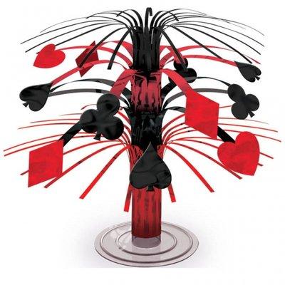 Casino bordsdekoration - 18cm blickfång, minikaskad