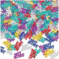 Födelsedagskonfetti flerfärgat - 14 g