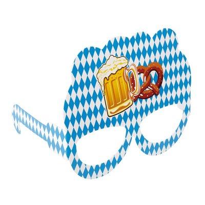 Oktoberfest partyglasögon 8-pack