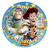 Toy story 3 papperstallrikar 23 cm - 8 st