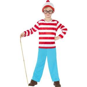 Wheres Wally barn maskeraddräkt