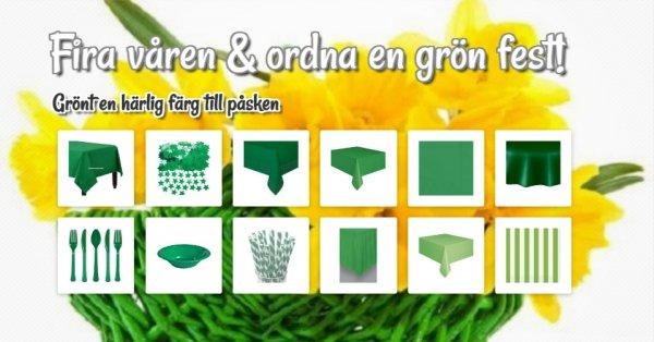 Fira våren med en grön fest