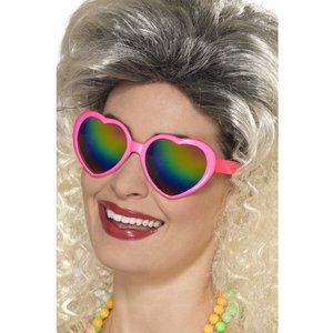 Hjärtbrillor - Regnbåge