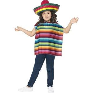 Poncho och sombrero