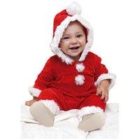 Jultomte bebis maskeraddräkt 0-1 år