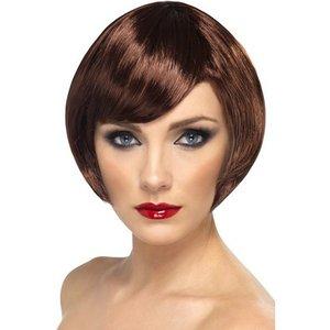 Kort page brun peruk