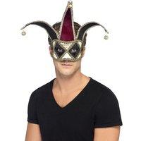 Gotisk venetiansk Harlequin ögonmask