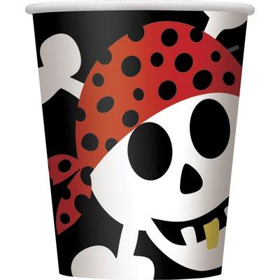Pappersmuggar - Piratefest 266 ml 8 st