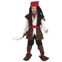 Karibisk pirat maskeraddräkt - Barn